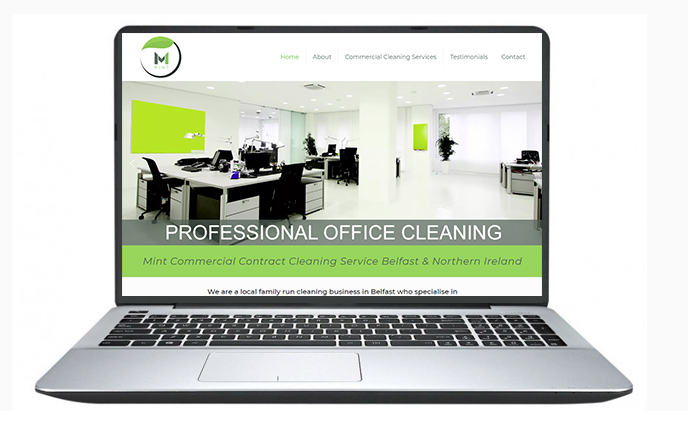 website Design Belfast Example 1